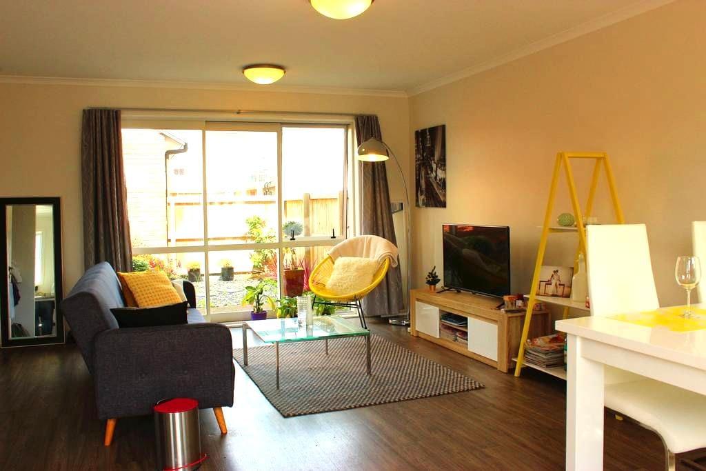 Stylish townhouse-private twin room - Hamilton - Rivitalo
