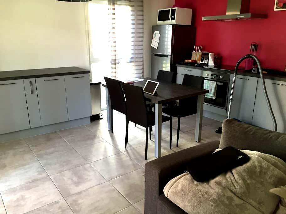 Chambre dans appartement proche de Perpignan - Canohès