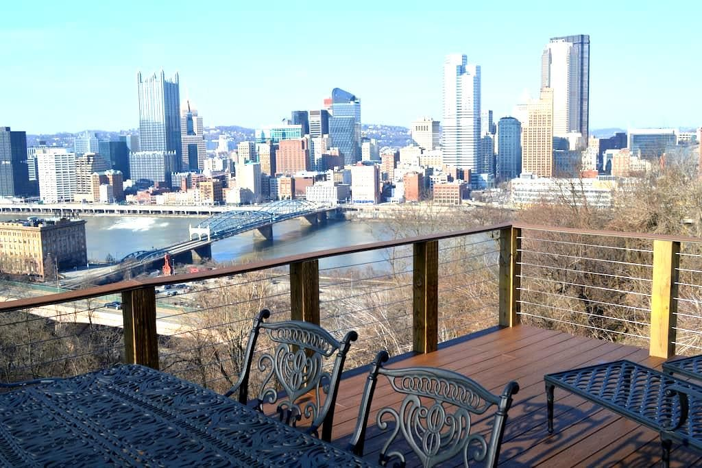City Skyline & Close to Everything! - Pittsburgh - Pis