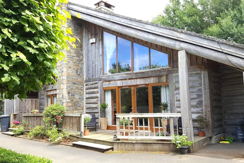 Luxury Canadian Wooden Lodge on Golf Course - Kildare - Talo
