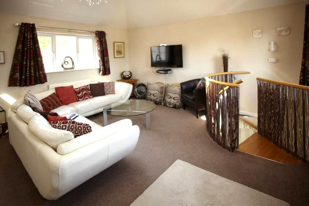 Private apartment space close to Stansted Airport. - Great Dunmow - Szoba reggelivel