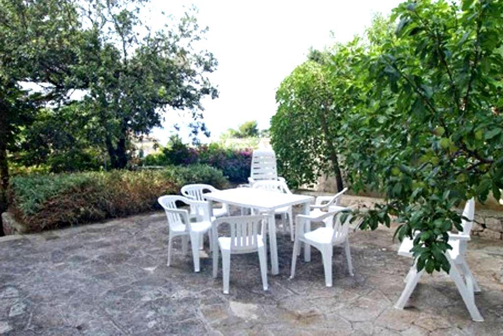Casa con giardino vista mare - Santa Cesarea Terme