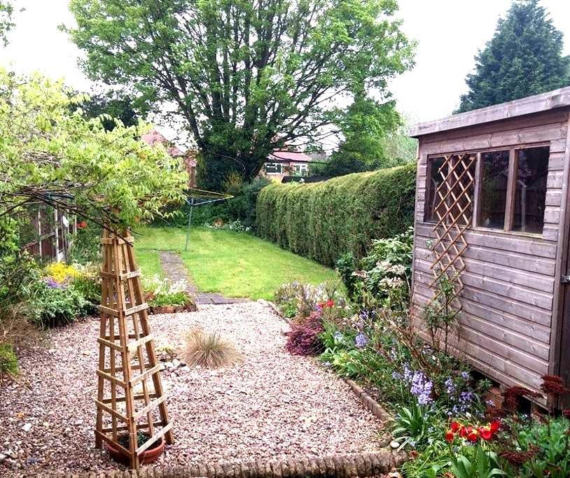 Bright & quiet English House - Beeston - Rumah