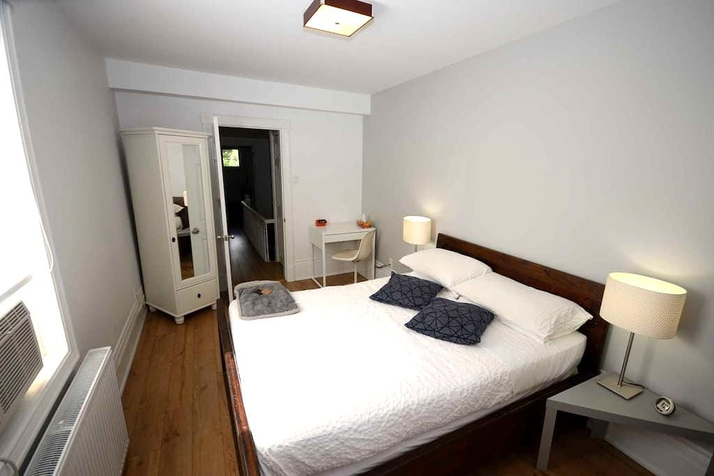 Quiet and cozy place. Spacious, central & clean. - Ottawa - Maison