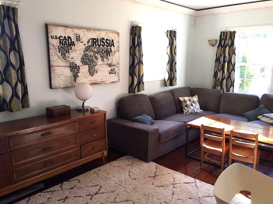 Suite in historic neighborhood close to uptown - Шарлотта - Дом