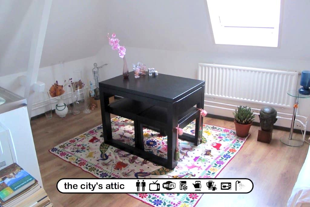 the city's attic - Arnhem - Apartmen