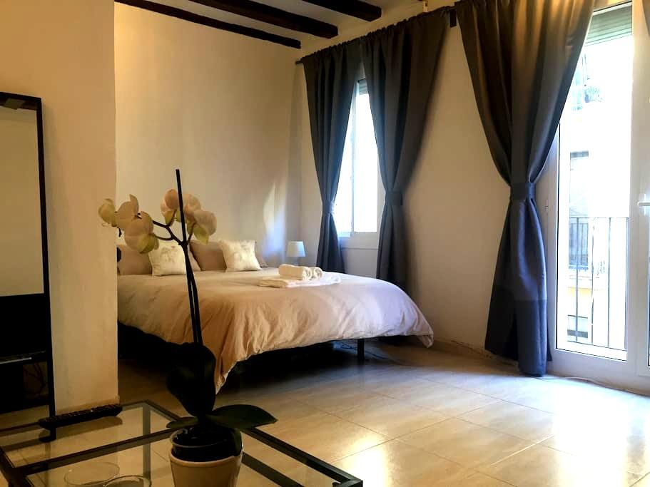 Cozy citycenter flatWALK EVERYWHERE - Barcelone - Appartement