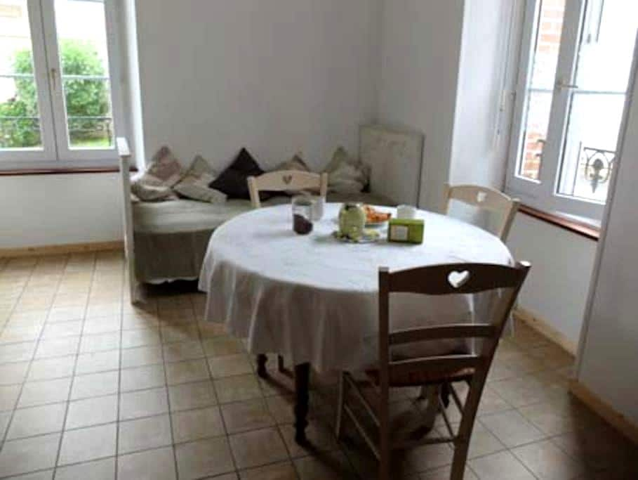Appartement cosy, 100m de la plage, 3 personnes - Saint-Pair-sur-Mer - Daire
