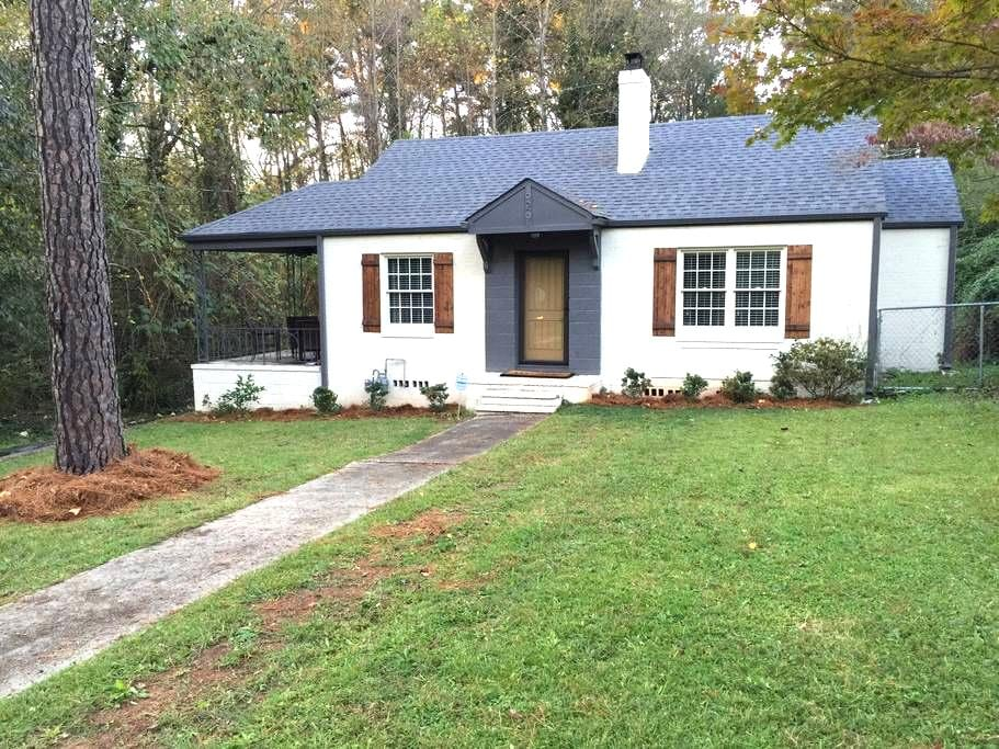 Craftsmen House Near Atlanta and the Airport - Hapeville - Huis