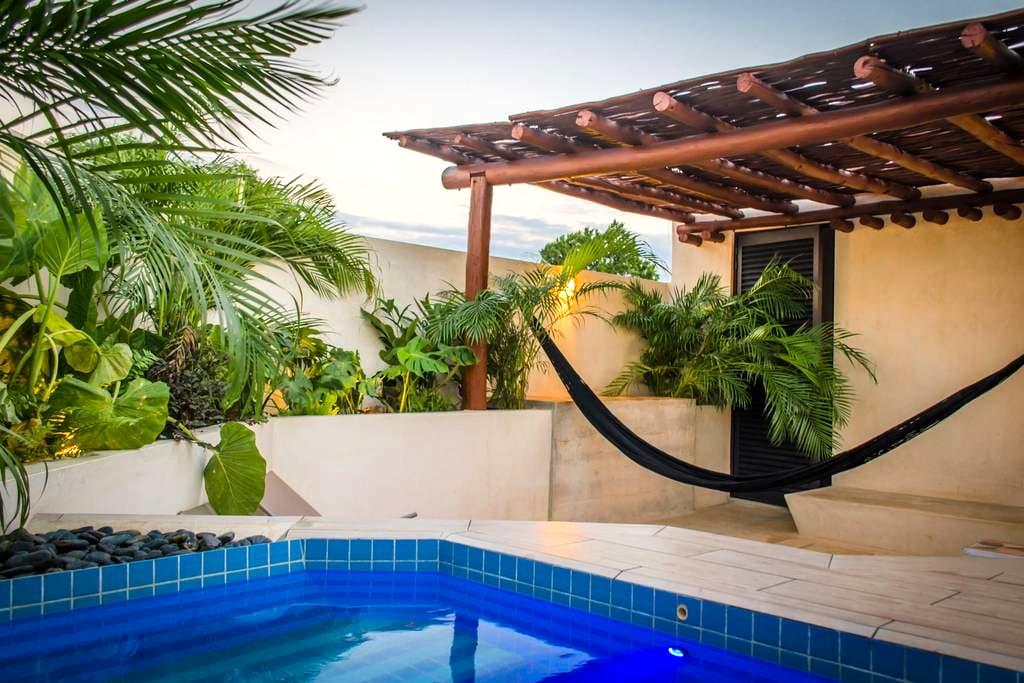 B59-NEW PETITE & DESIGN STUDIO W/ ROOFTOP PLUNGE - Mérida - Wohnung