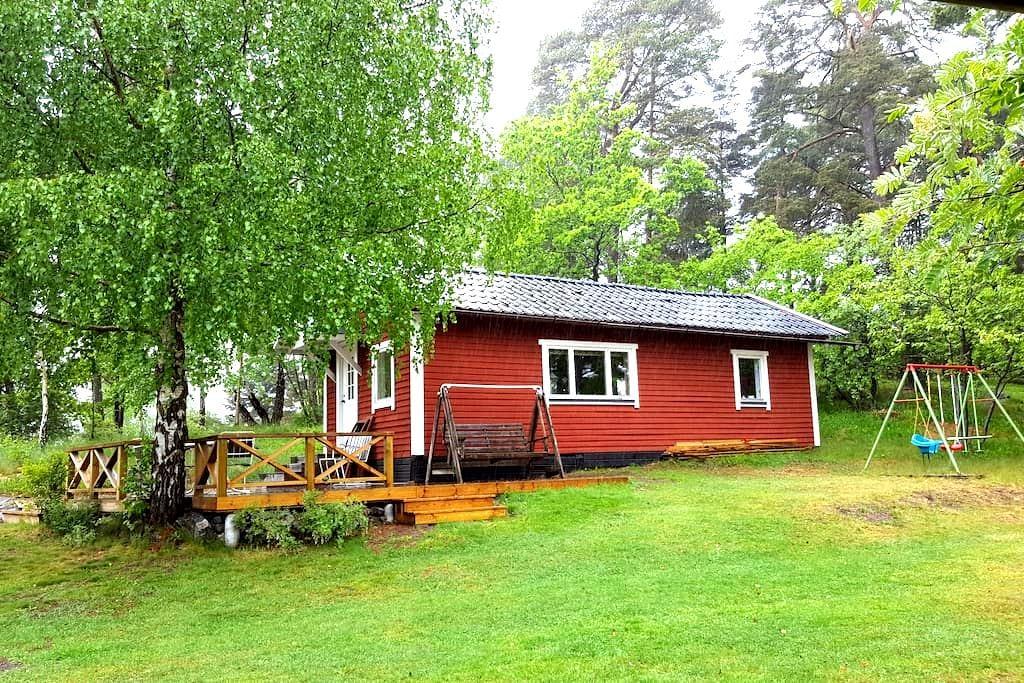 Mysig stuga på Tynningö - Vaxholm - Chalet