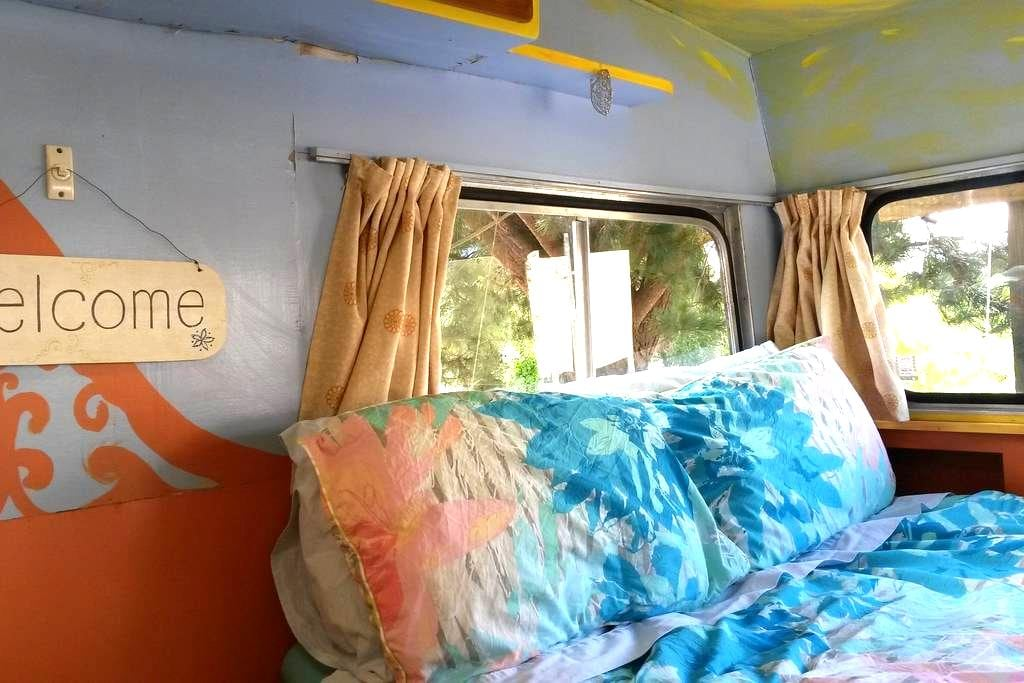 Buttercup Caravan-see Cascade Caravan for openings - Lake Hawea - キャンピングカー/RV車