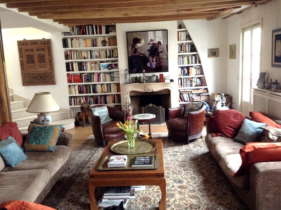 Quiet & cosy room in Paris center - Parigi - Bed & Breakfast