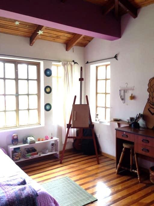 Charming colourful room. - Otavalo  - House