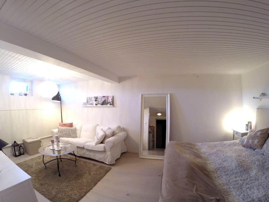 Nice room (19m2), private bathroom - Uppsala - Oda + Kahvaltı