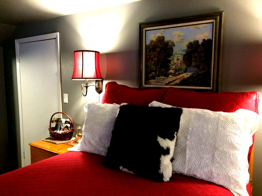 "Ski and Stay at Idle Day Cottage ""Texas Room"" - Sagle"