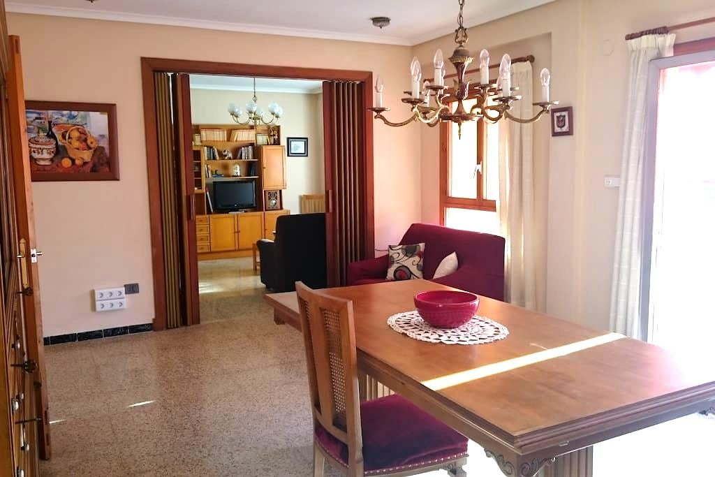Amplio y luminoso apartamento - Carcaixent - Lägenhet