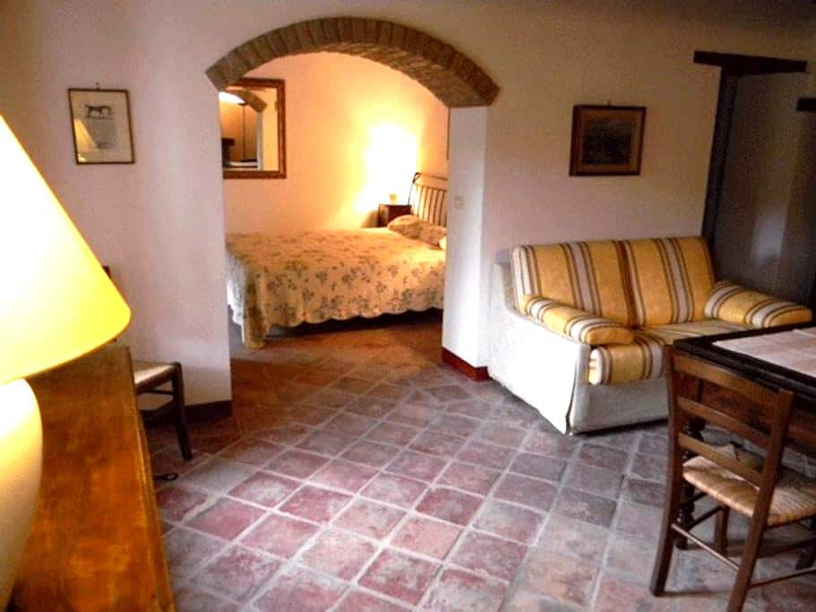 Ferienwohnung für zwei am Weingut - Valle San Giovanni - Appartement