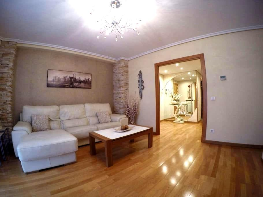 Tranquilo, bonito y acojedor - Logroño - Lejlighed