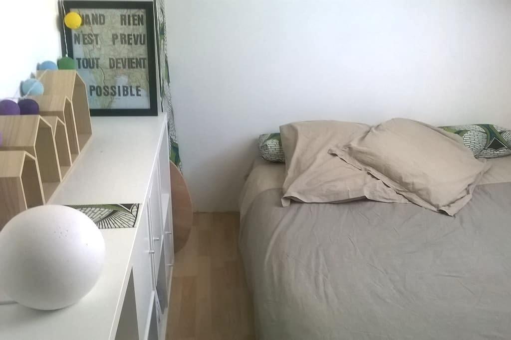 Chambre dans F3 en plein coeur de Lagny sur marne - Lagny-sur-Marne - Apartemen