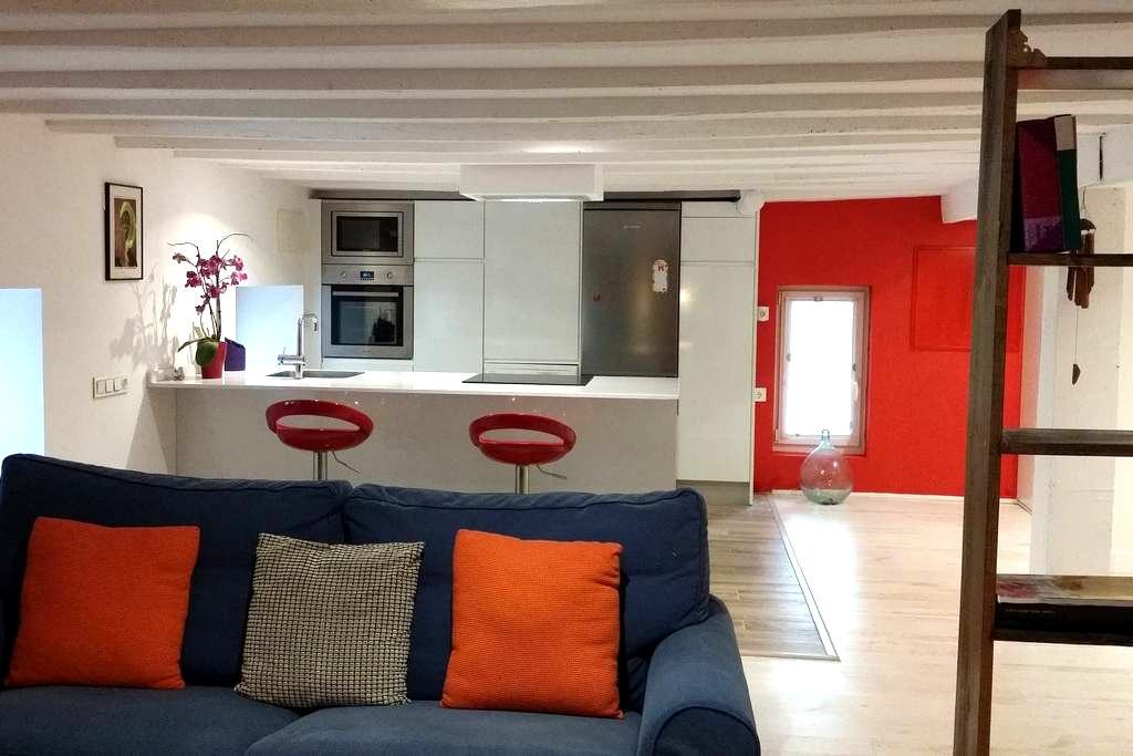 Acogedor apartamento a estrenar, 15min del centro. - Donostia - Apartment