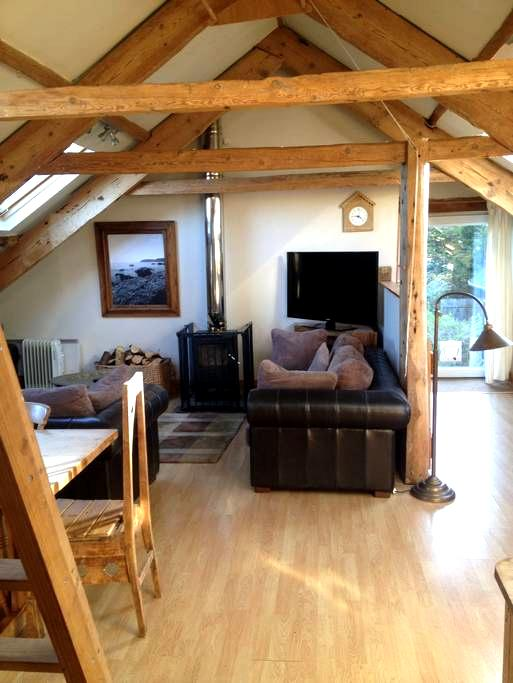 Bright and airy attic apartment - East Allington - Διαμέρισμα