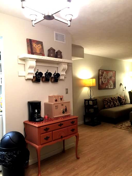 Cozy Condo Central Location - Louisville - Huoneisto