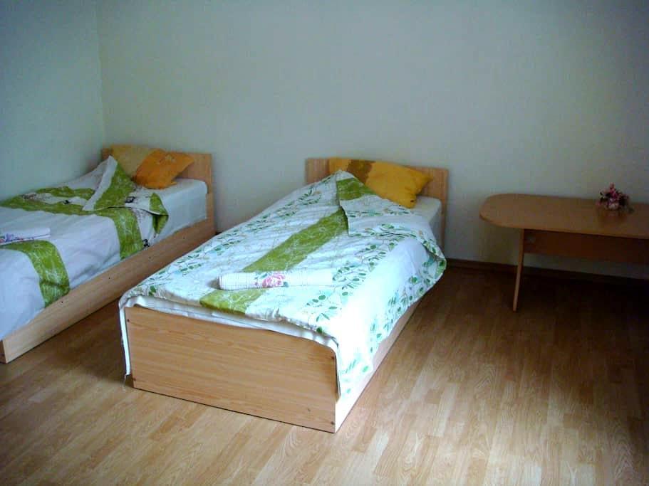 Twin room with shared bathroom  - Riga - Bed & Breakfast
