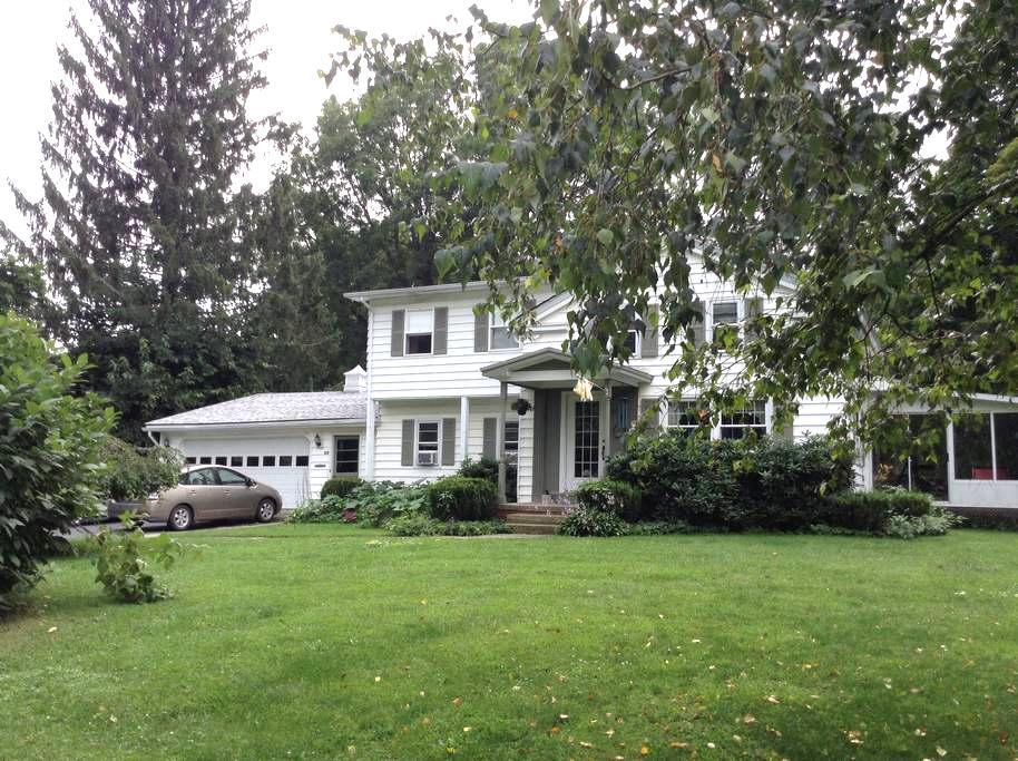 Letchworth State Pk & Niagara Falls from ARGENNAS* - Mount Morris - House