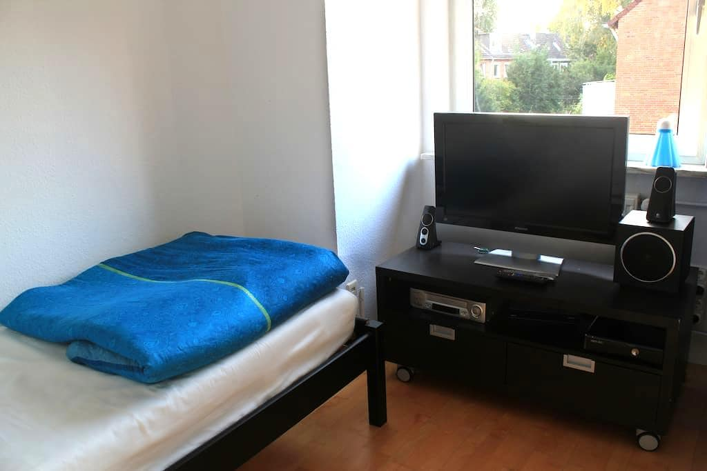 Comfortable Rooms for 3 close to the City Center - Hamburgo - Casa