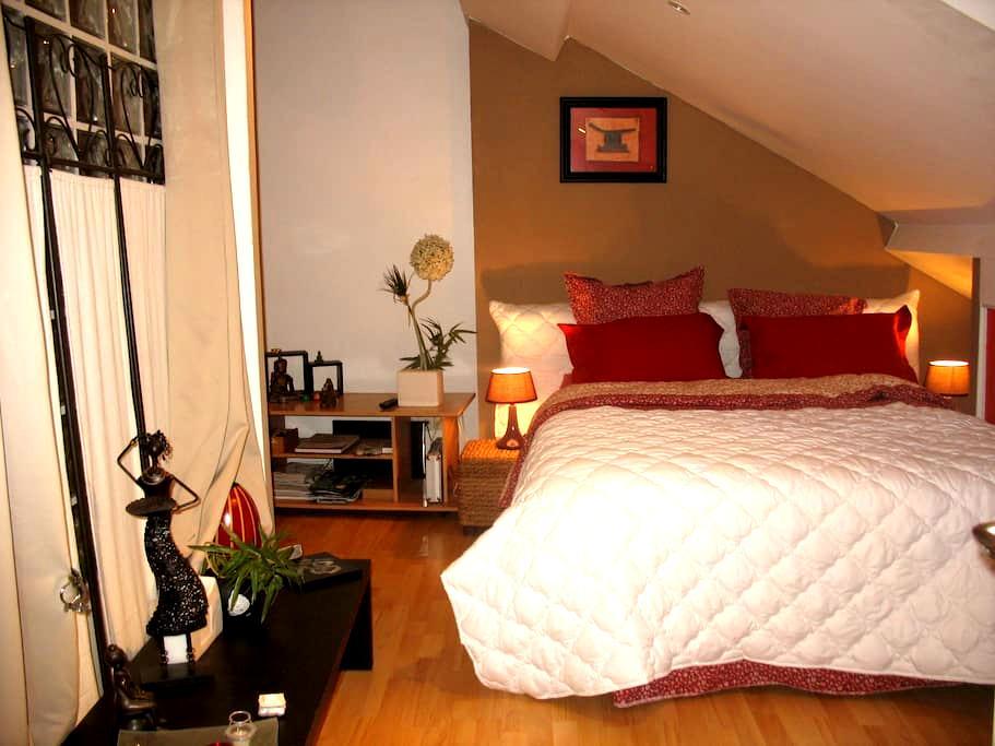 Chambre agréable centre Sedan - Sedan - Apartmen