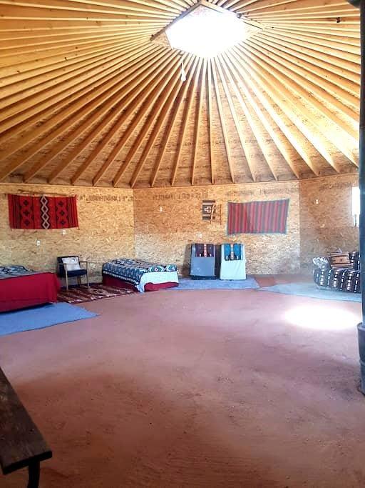 Navajo octagon earth hogan home - Oljato-Monument Valley - Earth House