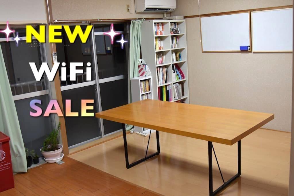 【Sale】2LDK/WiFi/2min Sta Bus/AW/NEW - 福井市