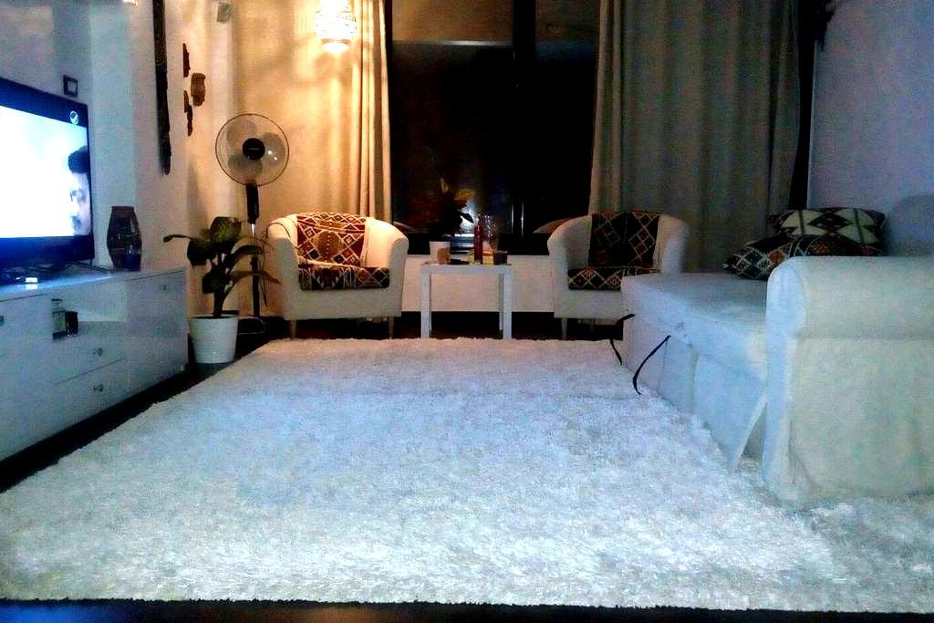 fully furnished modern apt - El Obour City - Flat