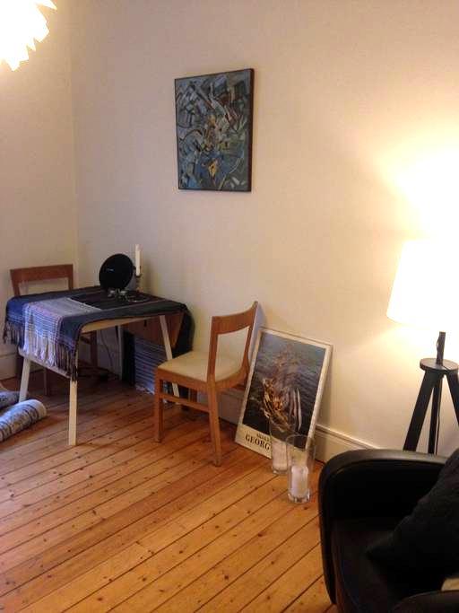 Cozy apartment in great Vesterbro - København - Apartment