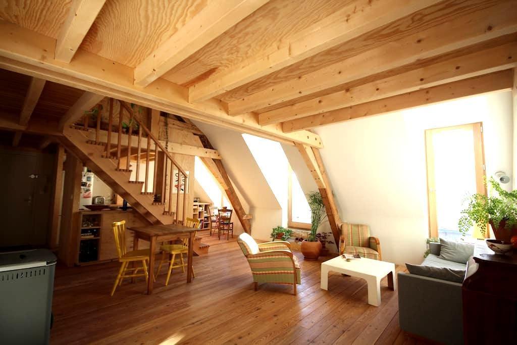 Appartement sous les toits avec terrasse Briançon - Briançon - Apartment