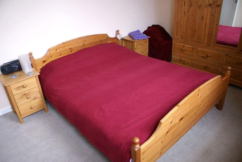Double bedroom near Edinburgh - Lasswade - Apartamento