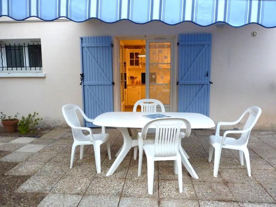 Calme et repos en rez de jardin de villa - Solliès-Pont - Apartamento