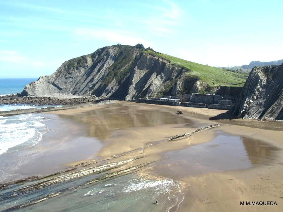 Nice penthouse apartment in the center of Zumaia - Zumaia - Apartament