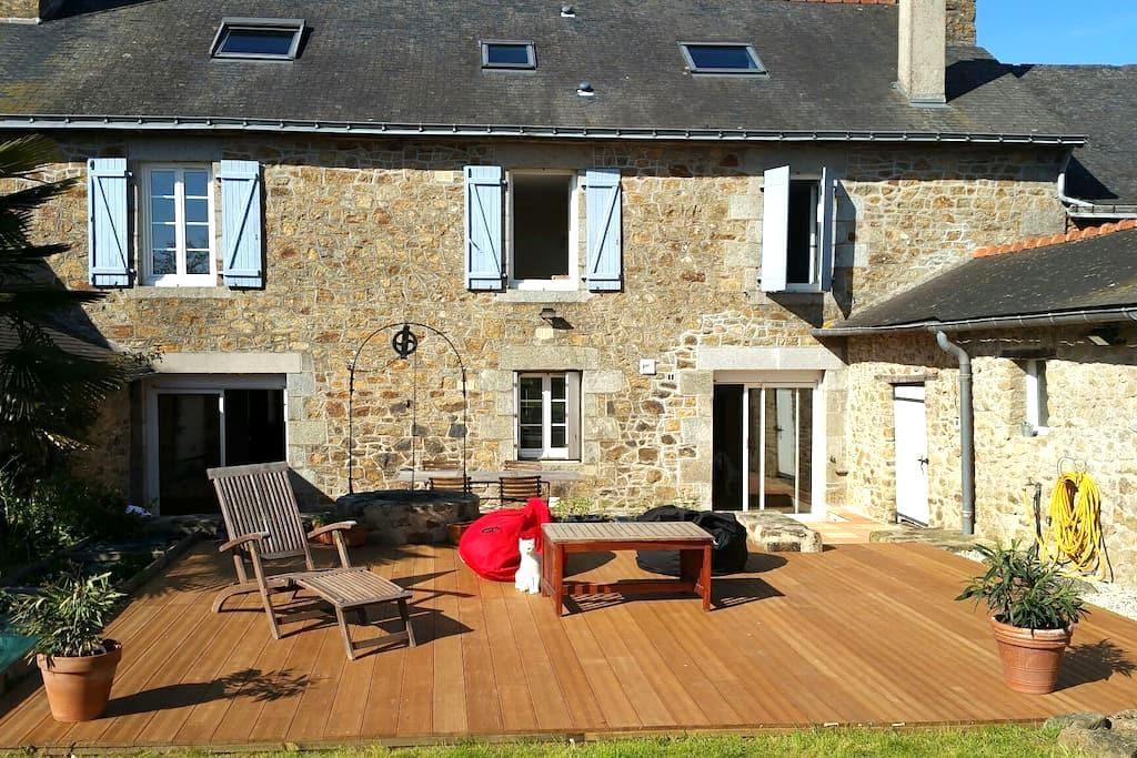 Superbe Maison en pierre - La Bigottière - Casa
