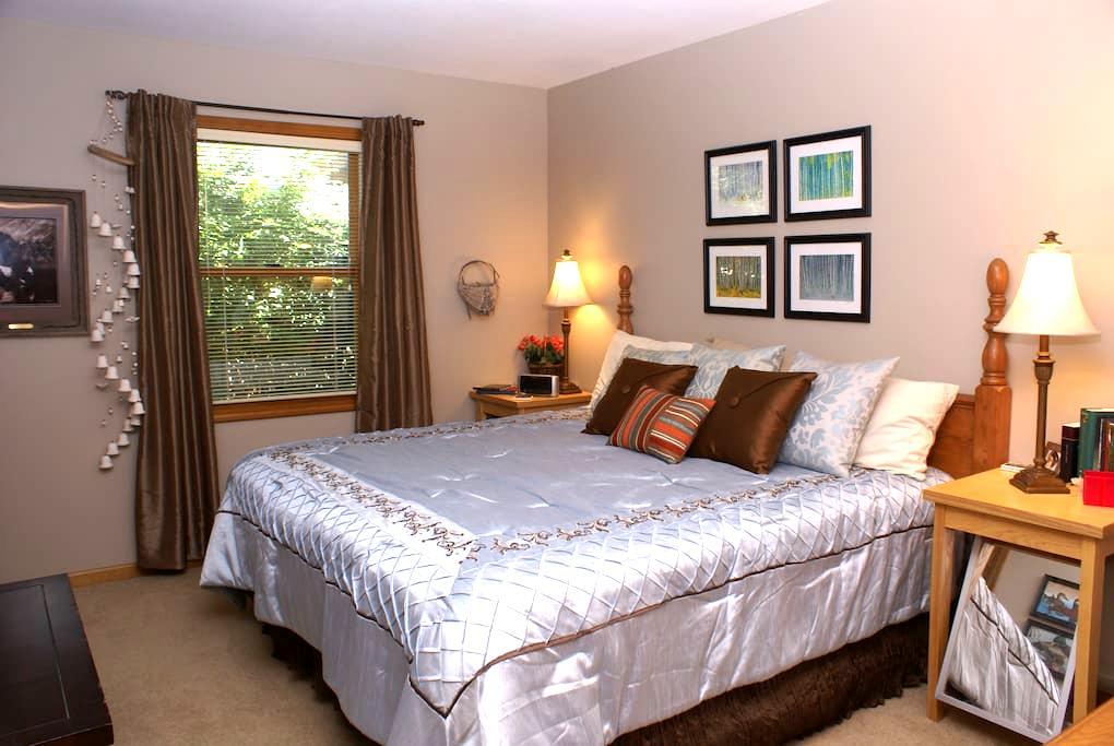 Sherwood Lake (King-size bed) - Topeka - Ház