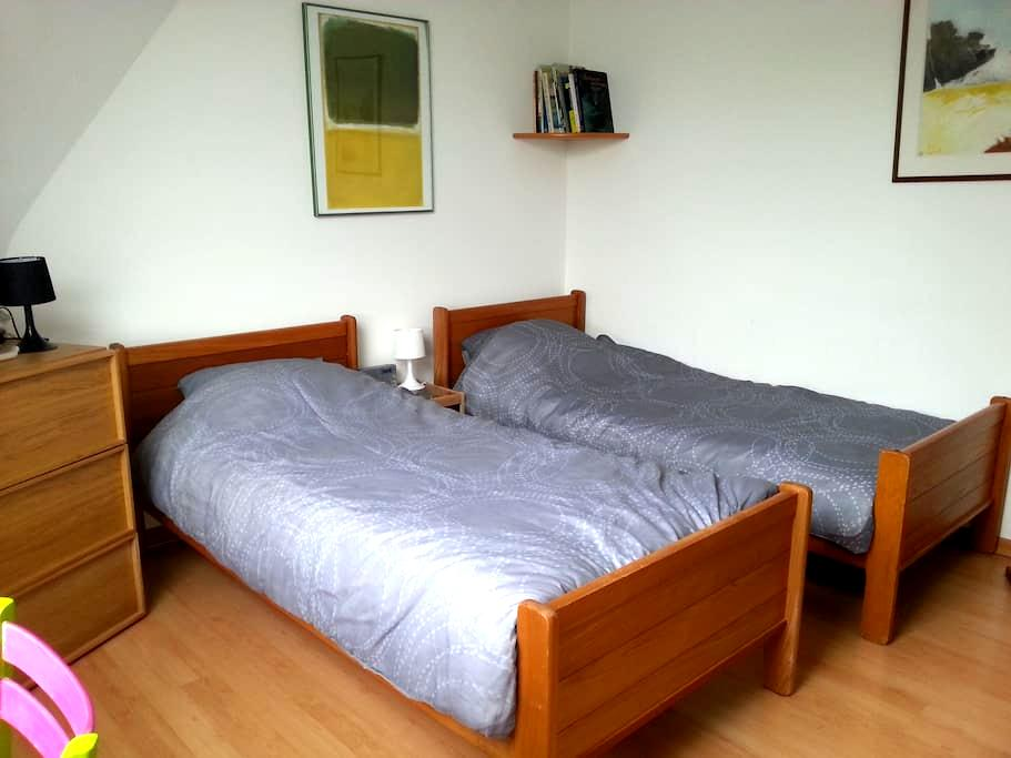 2BEDS private bathroom town center - Luxembourg - Appartement