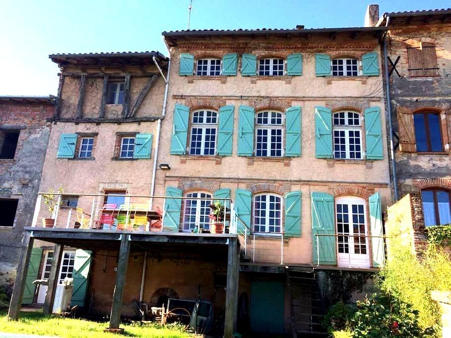 ProcheToulouse chambres dans maison atypique - Vacquiers - Talo