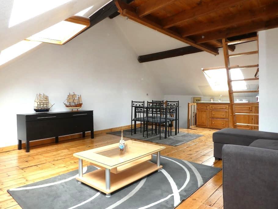 appartement plus jardin   1/4h a pied du centre - Amiens - Apartamento