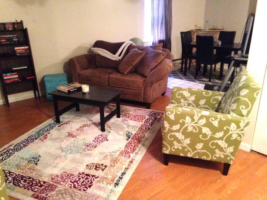 Charming 1BR State Capitol, downtwn - Albany - Wohnung