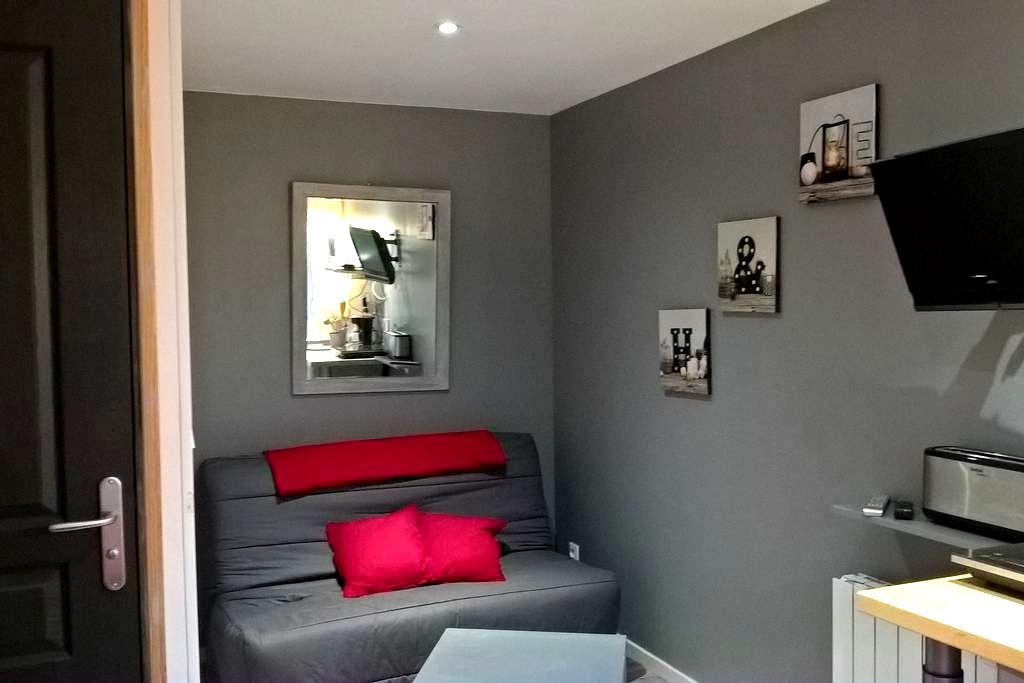 logement pour 4 indépendant a 10 mn du circuit - Brette-les-Pins - Apartemen