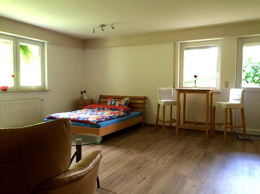 Neu: Gemütliches Zuhause, voll ausgestattet - Rosengarten - Apartamento