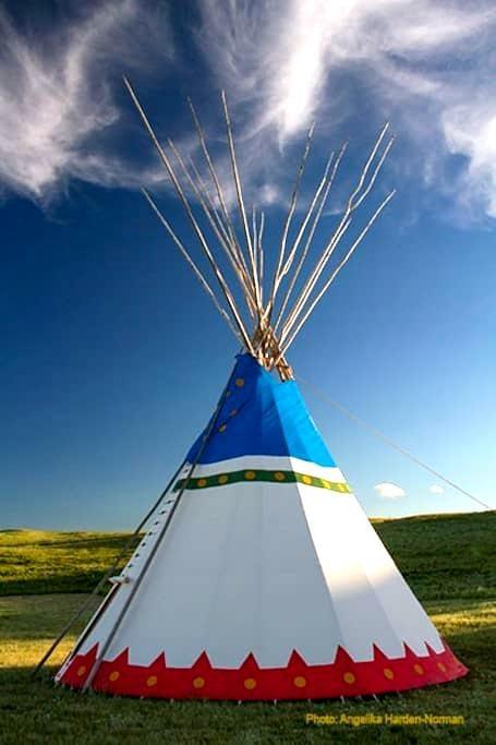 Blackfeet Tipi Village 6 - Browning