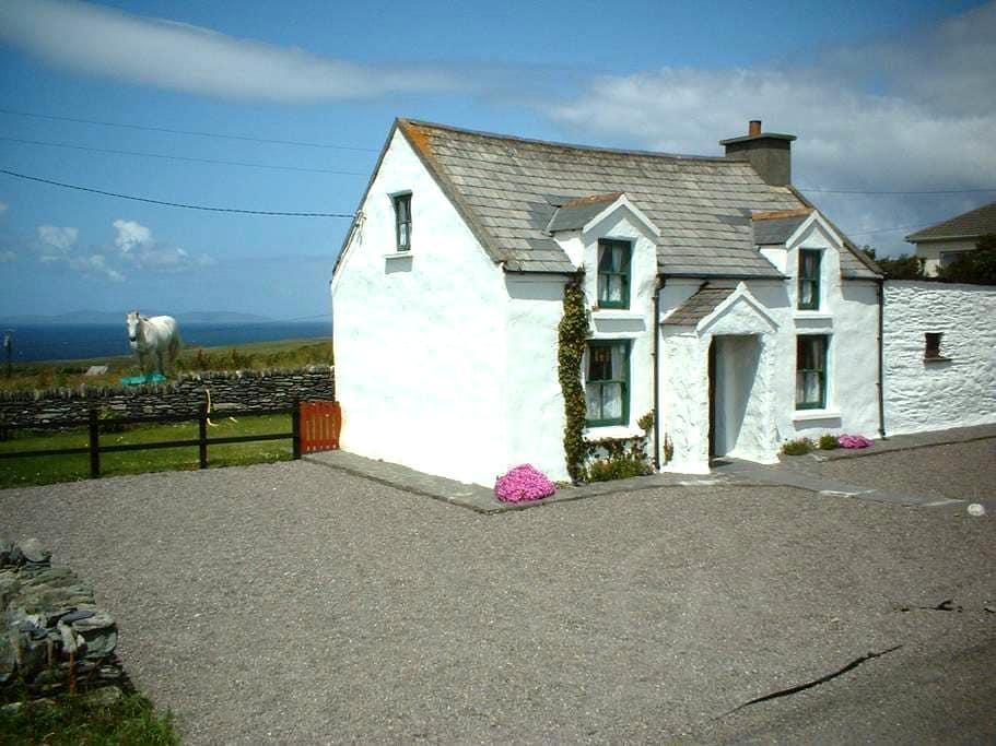 Charming 200Year Old Cul Cottage, Valentia Island. - Valentia Island - Blockhütte