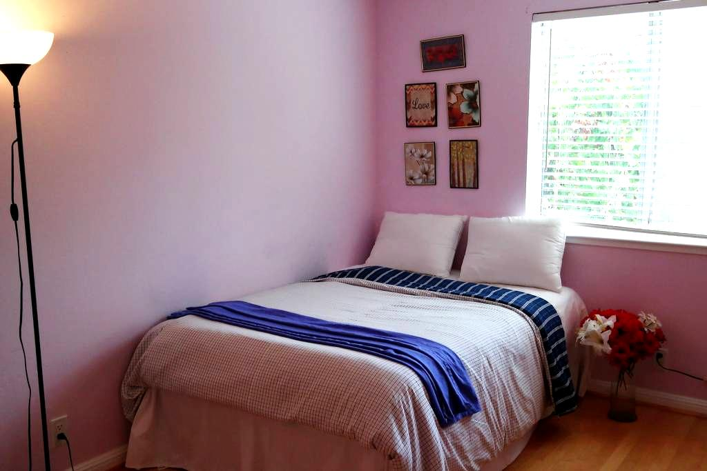 M1 Privat Room_8 min Great Mall,Milpitas,Free WIFI - San Jose - Rumah